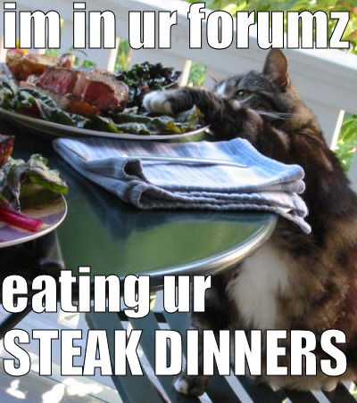 steak dinners